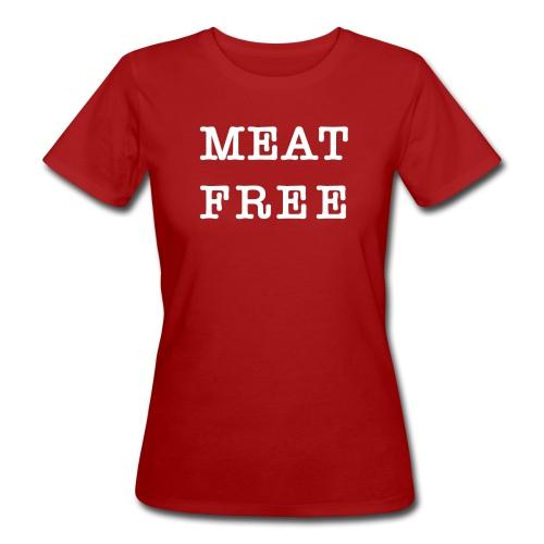 Meat Free - Frauen Bio-T-Shirt
