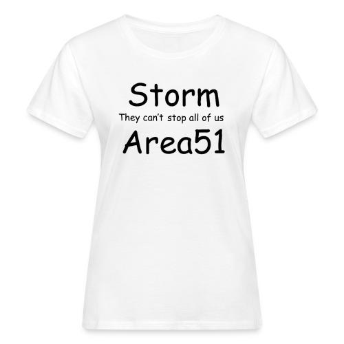 Storm Area 51 - Women's Organic T-Shirt