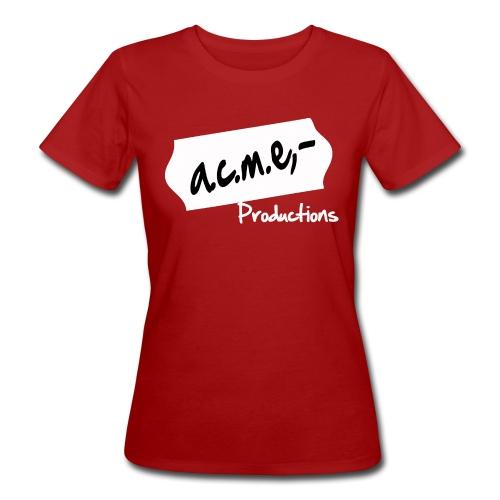 acmeproductionswhite - Frauen Bio-T-Shirt