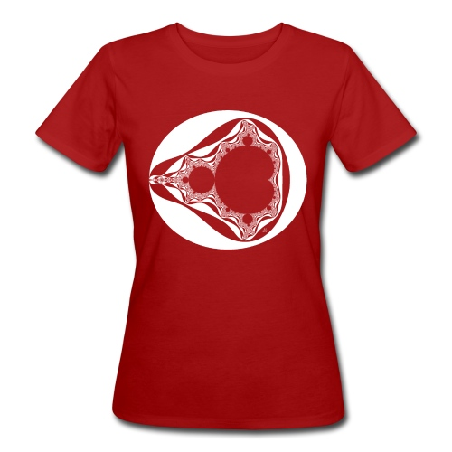 Classic Mandelbrot - Vrouwen Bio-T-shirt