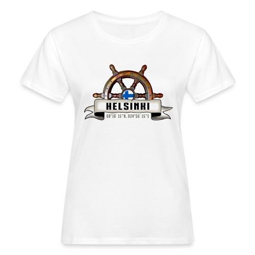 Helsinki Ruori - Merelliset tekstiilit ja lahjat - Naisten luonnonmukainen t-paita