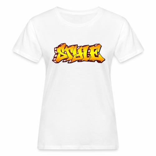 Camiseta estilo - Camiseta ecológica mujer