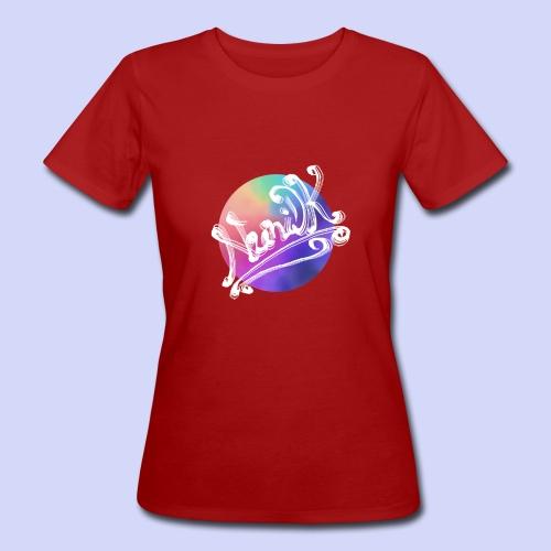pastel rainbow, NuniDK Collection - Female top - Organic damer