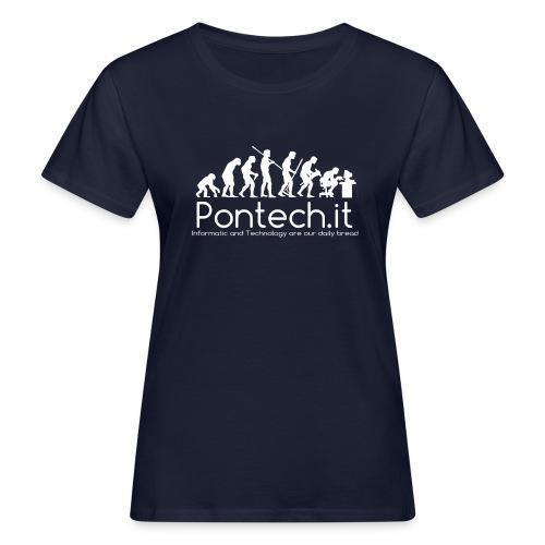 Pontech.it - T-shirt ecologica da donna