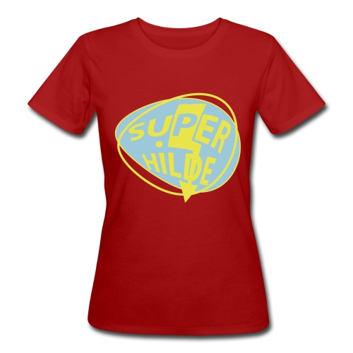 superhilde - Frauen Bio-T-Shirt