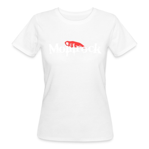 moillrockstortransparent - Økologisk T-skjorte for kvinner