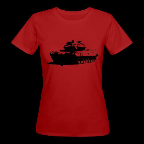 Leopard 2 Kampfpanzer - Stridsvagn 122 - Ekologisk T-shirt dam