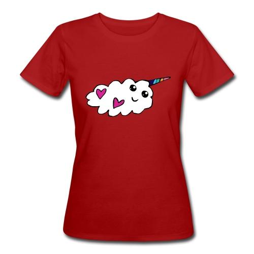Nuage licorne Kawaii - T-shirt bio Femme