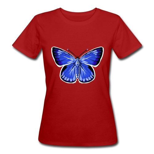 vlinder2_d - Vrouwen Bio-T-shirt