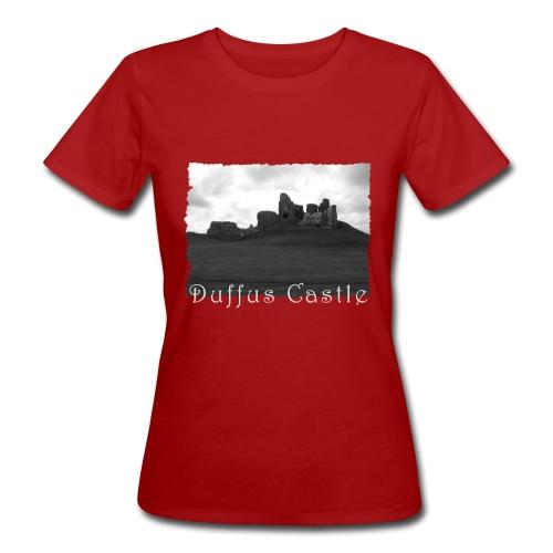 Duffus Castle #1 - Frauen Bio-T-Shirt