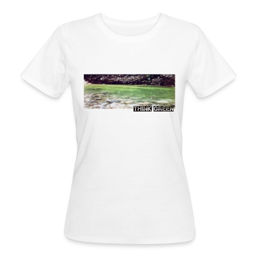 Think green - Frauen Bio-T-Shirt