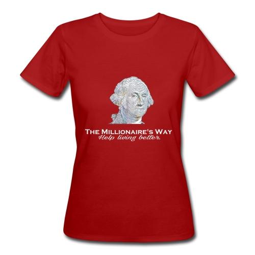 Il nostro logo in bianco - T-shirt ecologica da donna
