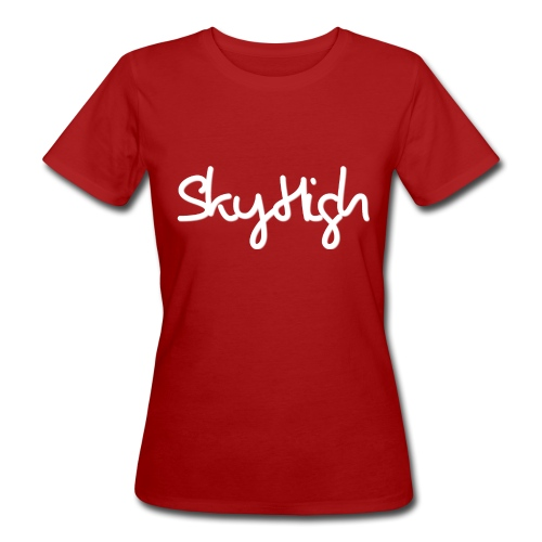 SkyHigh - Snapback - (Printed) White Letters - Women's Organic T-Shirt