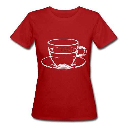 transparent cup - tazzina trasparente - T-shirt ecologica da donna