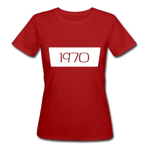 1970 - Vrouwen Bio-T-shirt