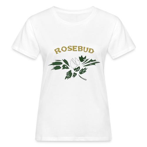 rosebud - Frauen Bio-T-Shirt