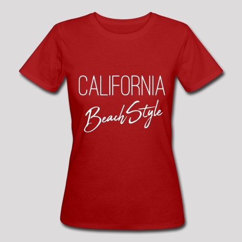 California Beach Style Shirt - Frauen Bio-T-Shirt