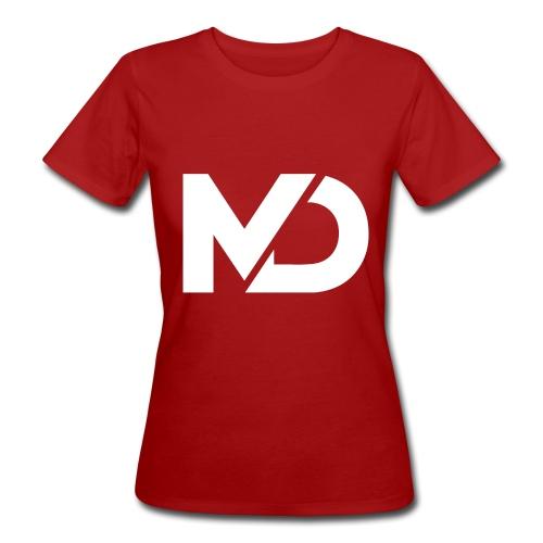 logo_wit - Vrouwen Bio-T-shirt