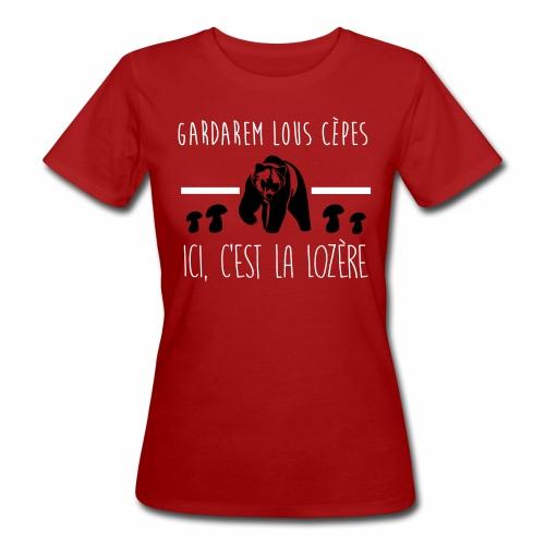 Gardarem Lous Cèpes Bicolore - T-shirt bio Femme