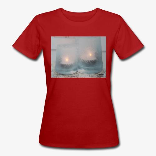 Selectie kaarslicht - Vrouwen Bio-T-shirt