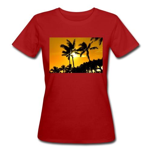 pam trees - Ekologisk T-shirt dam