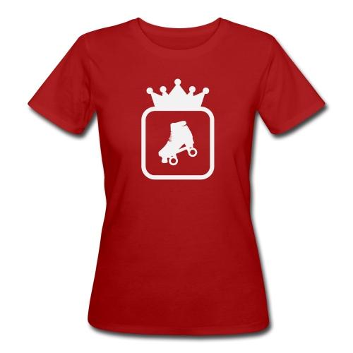 Speedskater Skating Krone - Frauen Bio-T-Shirt