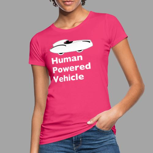 Quattrovelo Human Powered Vehicle white - Naisten luonnonmukainen t-paita