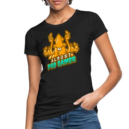 Almost pro gamer YELLOW - T-shirt ecologica da donna