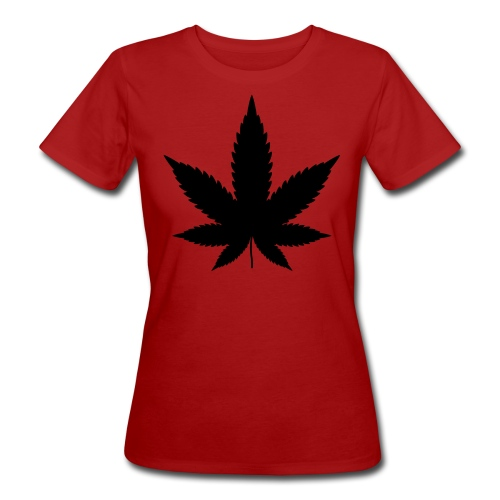 CannabisBlack - Frauen Bio-T-Shirt