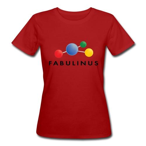 Fabulinus Zwart - Vrouwen Bio-T-shirt