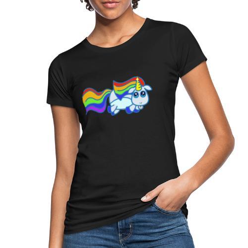 Nyan unicorn - T-shirt ecologica da donna
