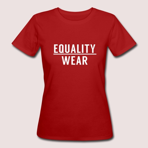 Equality Wear Official Pattern - Women's Organic T-Shirt