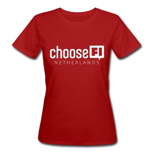 ChooseFI Netherlands - Vrouwen Bio-T-shirt