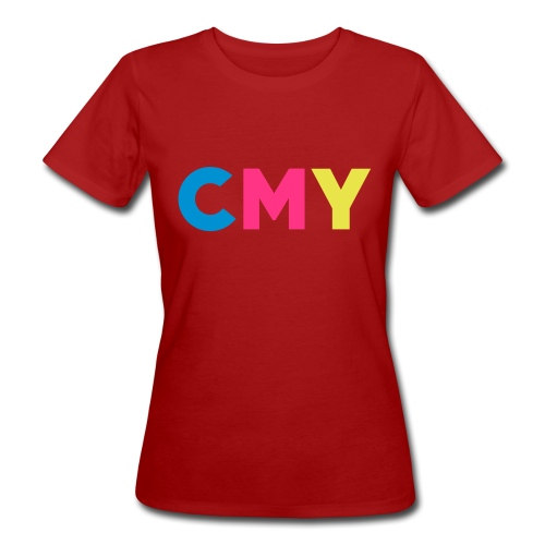 CMYK - Vrouwen Bio-T-shirt