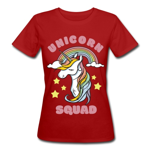 unicorn squad 0 - Naisten luonnonmukainen t-paita