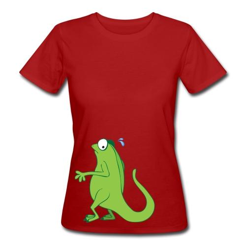 Ertappt - Frauen Bio-T-Shirt