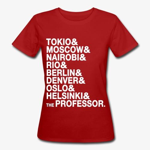 Casa di Carta - Donna Canottiera - T-shirt ecologica da donna