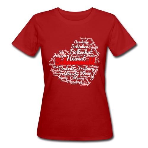 Schwarzwald Herz - Frauen Bio-T-Shirt
