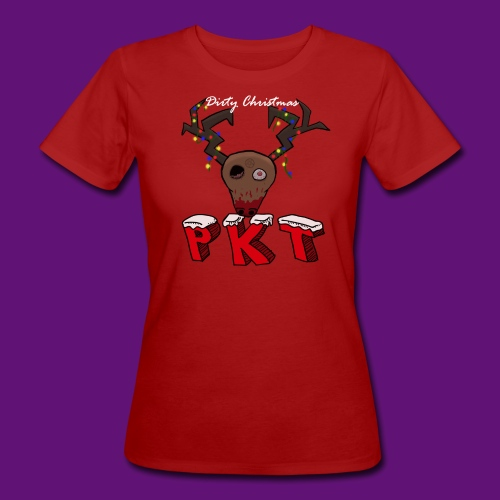 Dirty christmas - T-shirt bio Femme