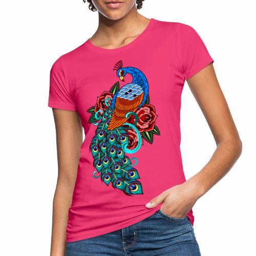 Farverig påfugl - Organic damer
