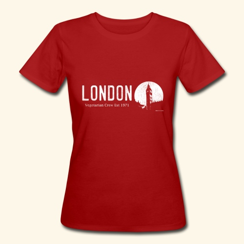 London Vegetarian Crew - Women's Organic T-Shirt