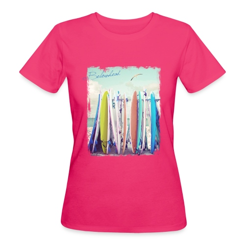 Surfs up - Frauen Bio-T-Shirt