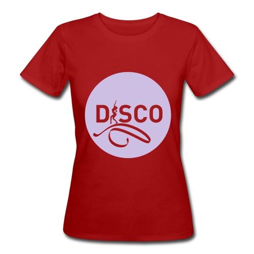 05-disco-pastille-noire - T-shirt bio Femme