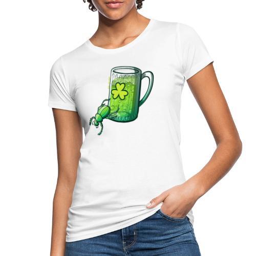 Saint Patrick's Day Beetle - Women's Organic T-Shirt