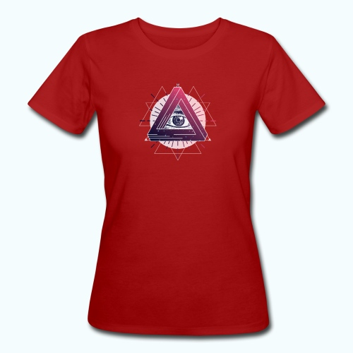 All Seeing Eye - Women's Organic T-Shirt