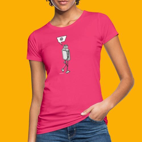 Dat Robot: Nerd Flirt Woman - Vrouwen Bio-T-shirt