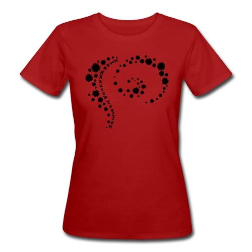 KlangRauschTreffen Blumenwirbel - Frauen Bio-T-Shirt