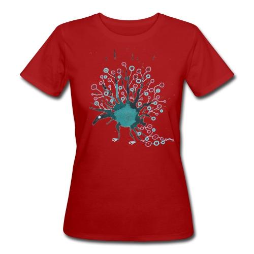 blaublau 1 png - Frauen Bio-T-Shirt