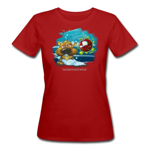 stay cool - and keep chasing toiletpaper - Frauen Bio-T-Shirt