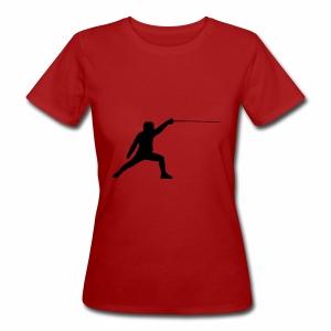 Fencer - Frauen Bio-T-Shirt